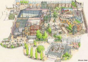 ジブリパーク完成予想図・2022年秋開業予定・概要発表・愛知になぜ?・働くには?