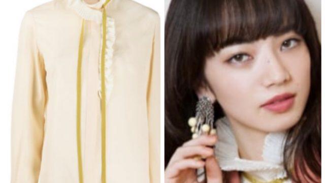 小松菜奈ジョージアCM衣装のジャケット・ブラウスのブランドや値段は?