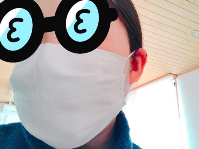 アベノマスクをリメイク!簡単な方法で小さい配布マスクを使えるように変身!